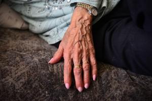 היד של אמא